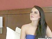 Nouvelle marque à porno de Nina tire au but sa première vidéo