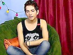 Homosexuell Porno achtzehnjährige Giovanni Lovell ist eine spanische impo