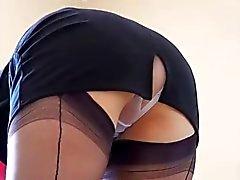 Дева Любительское порно шпиона Upskirt