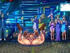 KOF XIII hentai Athena jämfört med Kensou