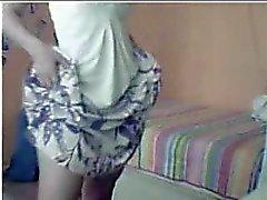 Geniet Series 171 Hete moeder op webcam