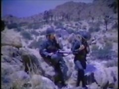 Vintage Gay Militär Gemenskap Onani