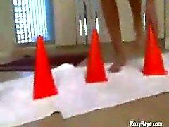 Bizarr anale Fisting und Extrem riesigen Spielsachen und gähnend ass