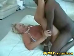 My MILF Exposed Cuckold wife fucking BBC bull