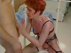 Fransman redheaden Äldre