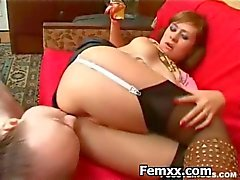 Hot Dominatrix Sexig Bråkade