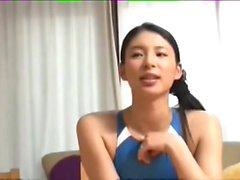Kanon Takigawa in a swimsuit