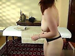 La mujer Hot culo Cremita