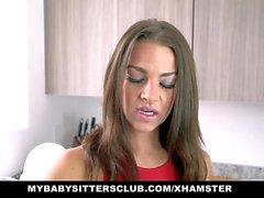 MyBabySittersClub - Hot Baby Sitter gefickt von Old Perv
