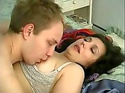 Unique russian mature and spying boy