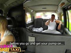 Kadın Sahte Taksi Stud sürücülere cum büyük memeli kapsar