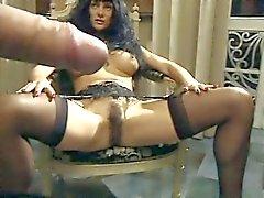 Venere Bianca - svart strumpor
