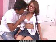 Mariru Amamiya amazign porn play in POV style