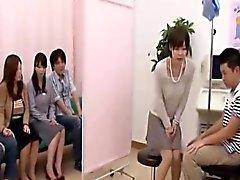 Altbaşlık esrarengiz Japonca doktor meme yumru Oral giriş