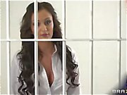 Beautiful horny doctor Keira Night fucked hard in prison by inmate