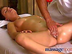 Massage rummen Teen gullig tycker grepp och höjdpunkt