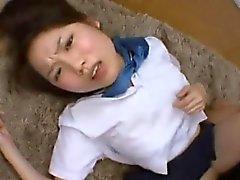 Virgin Miyu engañado para primera relación sexual 2