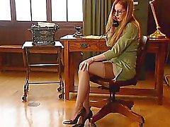 La Oficina niña de 4
