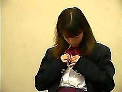 Adolescentes asiáticas Schoolgirl dedos E foda do que o pelo Mestre