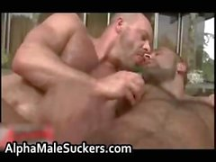 Alex Corsi and Carlo Cox outdoor
