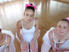 Anal slav allmän grupp första gången Ballerinas
