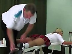 Schoolgirl's being punished