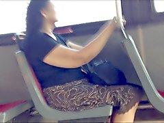 Otobüs flaş & cum