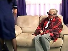 Enfermero euros Fetiche le encanta gallo viejo