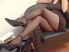 Suzana in zwarte panty