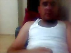 i vari uomini diritte i piedi sulla di webcam