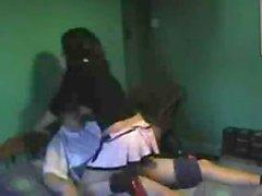 Couple amateur de vidéos leur jeunes action du sexe chauds pour tout voir