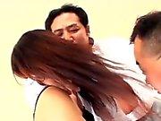 Untertitelt japanischen Garten der Lüste Sex-Party