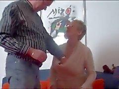 A avó alemães muito quente!