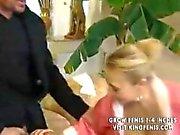 schönen Deutsch sauberer Oma bekommt von jungen Chef anal