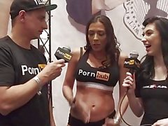 vitaly zd at avn 2016 with rachel starr and nikki knightly interviews