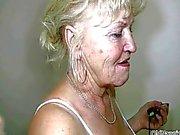 Blonde mummon isot tissit Saa dances alaston