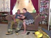 Latino пожарного не можем противостоять его гей искушениям