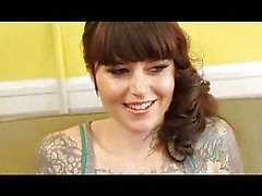 Bobbi Starr fucks with a tattooed girlfriend