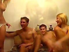 Seksi bir Bisexul 4some !!!