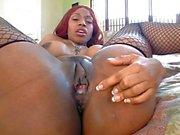 Ayana Angel tar en big dick
