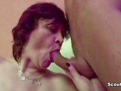 Step-Mom Seduce Him to Fuck Her When Dad is Away