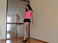 Sexy Arab Mini Skirt Dance