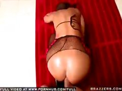 Lovely Lisa Ann likes poses her cute ass but she likes cock penetration more