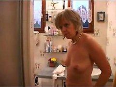Väldigt söt franskt mommy Christine