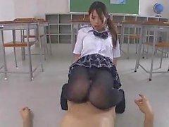 Asian Schoolgirls In Nylon Group Sex
