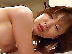 de chicas de Japón disfruta del tiempo caliente con su El individuo y recibe un golpe