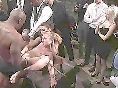 Bestrafung eine verführerische Sexsklavin