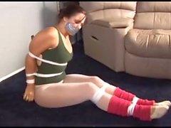 Ballerinas tied up