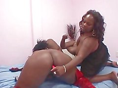 Lesbian BBBW 11 - scene 1