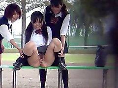 Японскими Fetish подростков в туалет